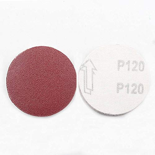 HNLZGL NEW 10PCS Sanding Disc 60-2000 Grit 3 inch 75mm Sandpaper For Dremel Sander Machine Self Stick Abrasive Tools Accessories,180grit 10 pcs