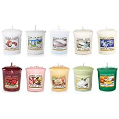 Idea Regalo - Yankee Candle set di 10 candele, fragranze varie