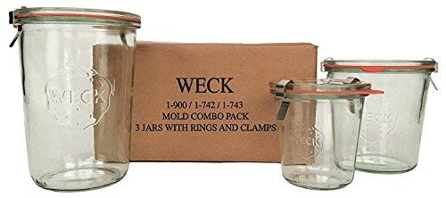Weck Mold Jar Combo Packs (Standard)