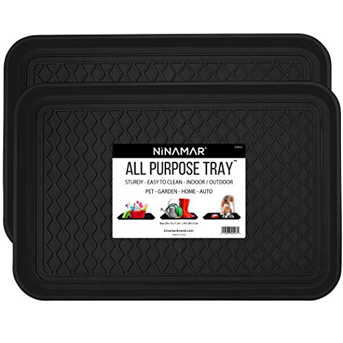 Ninamar Boot Tray – 20 x 15 Inch - 2 Trays