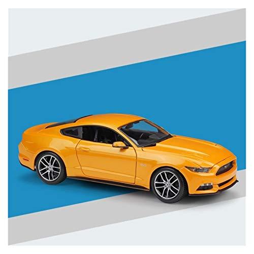 1:18 para Mustang S-Port-Car Diecast Modelo De Coche De Aleación De Metal Coches De Alta Simulación Hombres Niños Niño Juguetes Regalo Coche de Juguete (Color : 2)