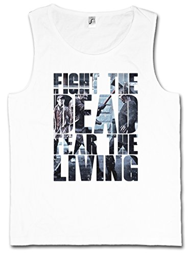 Urban Backwoods Fight The Dead Fear The Living Hombre Camiseta Sin Mangas Men Tank Top