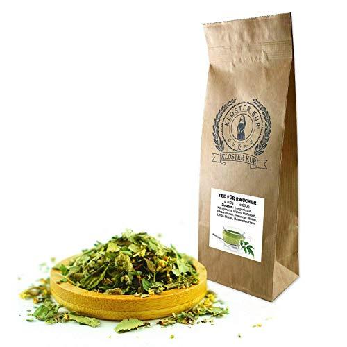 Kräuter Tee für Raucher 200g von KLOSTER KUR mit Lungenkraut Königskerze Blüten Huflattich