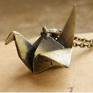 origami crane chain