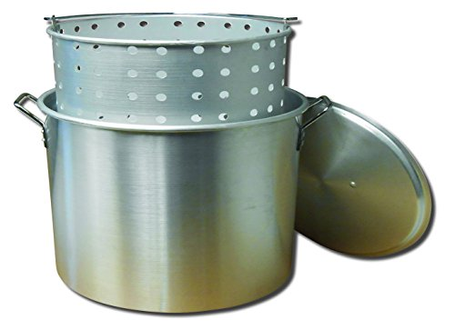 Best Price! King Kooker KK100 100-quart Aluminum Boiling Pot