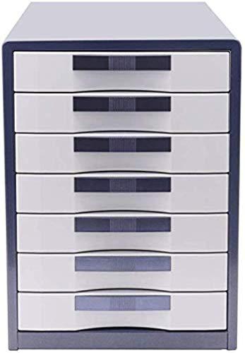 File cabinet Schedari 7 cassetti Desktop Metallo Storage Box casa Cabinet Office Desktop Archive Storage Manager Mobile Home Office Armadi archivio