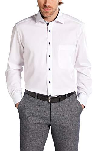 Eterna Mode GmbH E137 Chemise Business, Blanc (weiß 00), (Taille Fabricant (HerstellergrößeKragenweite 40 cm) Homme