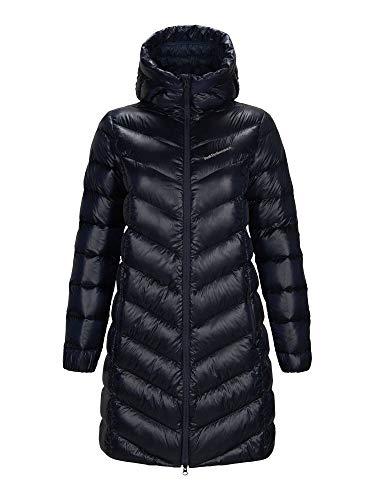 Peak Performance W Frost Glacier Down Parka Schwarz, Damen Daunen Mantel, Größe M - Farbe Black