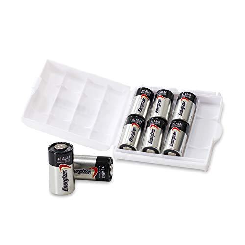 Energizer A544 4LR44 4G13 L1325 6 V Alkaline-Batterien in praktischer Batteriebox von Weiss - More Power + [8er-Box]