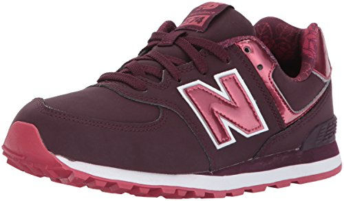 New Balance New Balance Kl574 Sneaker, Mehrfarbiges Burgunderrot, 33 EU