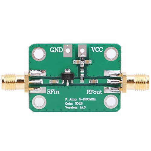 Módulo amplificador de RF, amplificador de radiofrecuencia de banda ancha de alta frecuencia, señal de radio de banda ancha de alta ganancia para receptores 5‑1500MHz 20dB