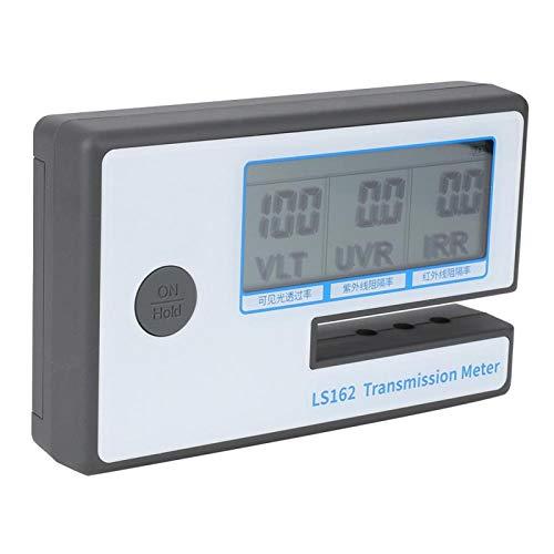 Medidor de transmisión de película solar, medidor de tinte de ventana multifuncional con ranura de prueba de 8 mm, para película de medición de vidrio filmado
