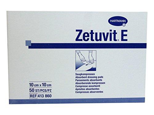 Zetuvit E Saugkompressen 10x10cm unsteril 50 Stk.