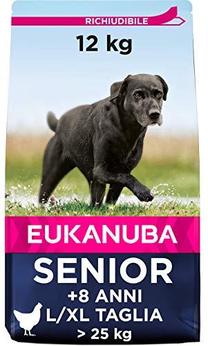 EUKANUBA Senior Large per Cani Anziani di Taglia Grande - 12 kg