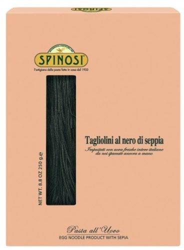 SPINOSI - Tagliolini al nero di Seppia - Pasta - Eierbandnudeln