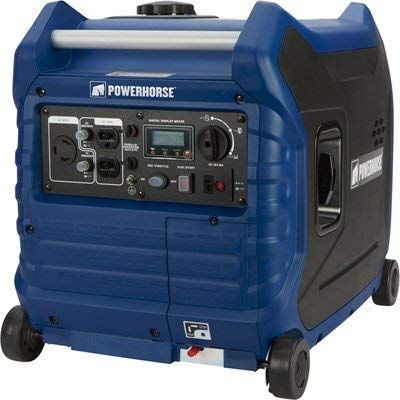 Powerhorse Inverter Generator - 3500 Surge Watts, 3000 Rated Watts, Electric Start, EPA and CARB...