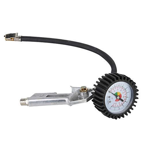 Weikeya Inflador de neumáticos, aleación de Aluminio Máquina de precisión Máquina de precisión Núcleo de neumático Digital Inflador