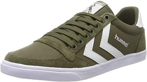 Hummel Herren Hummel Slimmer Stadil Low-Top, Grün (Olive Night 6453), 40 EU