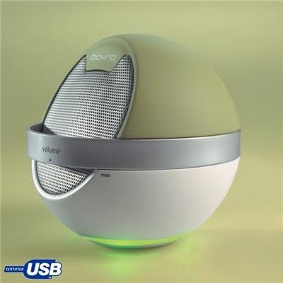Boynq Saturn Mono USB-Lautsprecher für PC grün