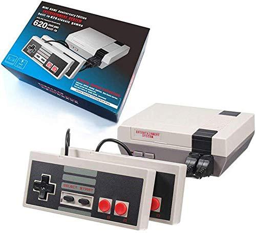 SUNHM Plug & Play Classic Game Handheld Console,Classic Game Console Built-in 620 Game Video Game Console,Handheld Game Player Console for Family TV Video