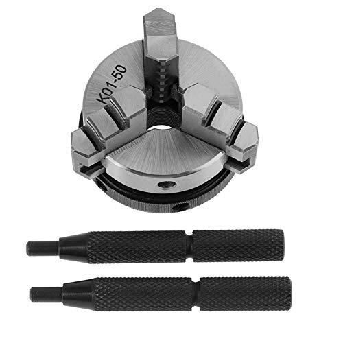 50mm Mandrino autocentrante tornio per la lavorazione del legno 3 Jaw Gull K01-50