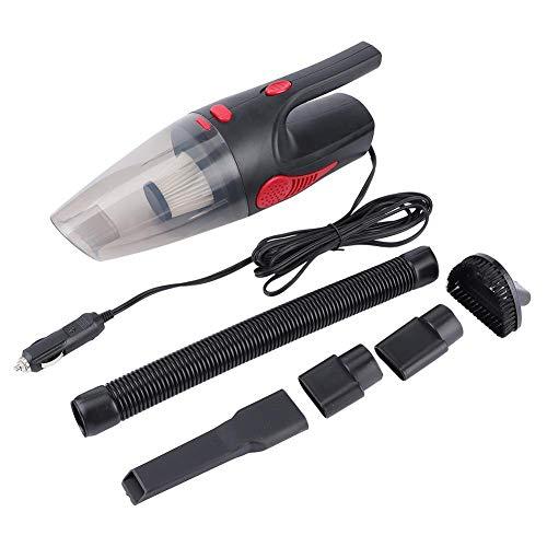 Aspirapolvere portatile Ymiko, aspirapolvere portatile a batteria senza fili Uso umido/secco Filtri Hepa ad alta potenza/piccolo rumore Dc 12V 120W, 6500 Pa Forte aspirazione (Nero)