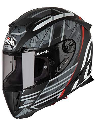 Airoh GP 500 Cascos, Adultos Unisex, Drift Black Matt, L