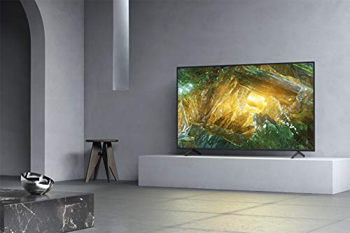 TV LED 4K 215 cm SONY KD-85XH8096BAEP - Téléviseur Ultra HD 4K 85 pouces - HDR - Motionflow XR 400 Hz - Dolby Vision / Atmos - SMART TV Android TV - Netflix, Prime Video