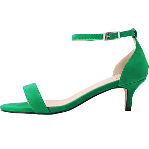 WanYang Donna Scamosciato Scarpe col Tacco Scarpe a Punta Kitten Heel Shoes Scarpe col Tacco Calzature
