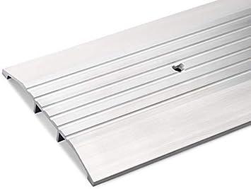 6 Wide X 1 2 High Heavy Duty Fluted Aluminum Threshold 3 Ft Amazon Com