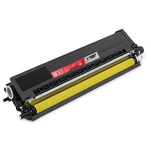 XIGU Cartucho de tóner compatible para Brother TN370 para impresora Brother DCP-9055CDN HL-4150CDN 4570CD MFC-9465CDN 9970CDW, color amarillo