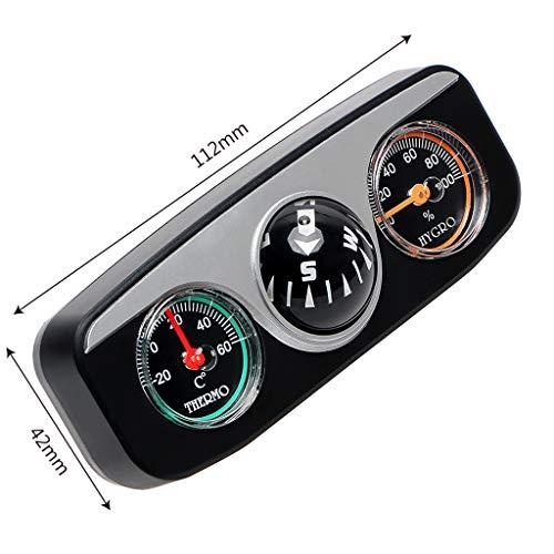 SZ-JSQC 3 In 1 Gids Bal Auto Kompas Thermometer Hygrometer Auto Ornamenten Auto Styling Interieur Accessoires Voor Auto Boot Voertuigen
