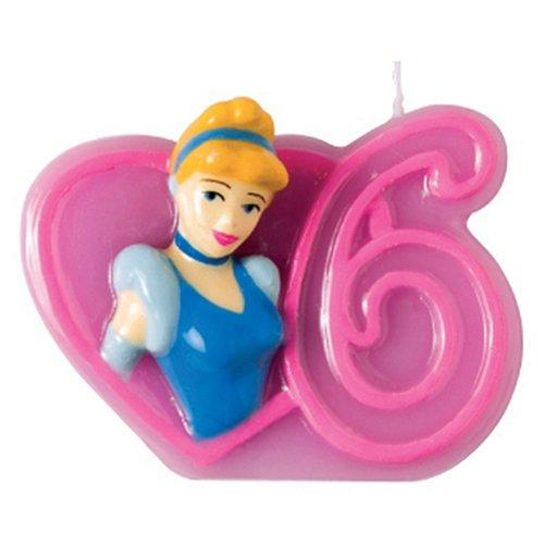 Candela 6 Principesse Disney