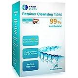 Y-kelin Tableta de limpieza de retenedor ortodóntico Tableta de 96 (96 tabletas)