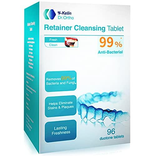 Y-kelin Compressa per la pulizia del fermo ortodontico 96 Tablet (96 Tablet)