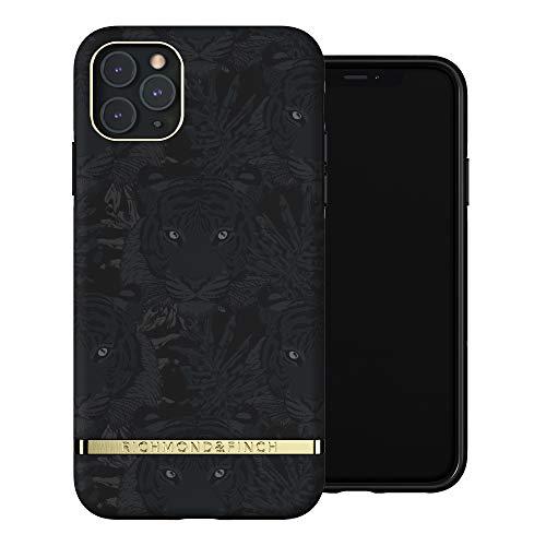 RICHMOND & FINCH Funda Teléfono Diseñada para iPhone 11 Pro MAX, Tigre Negro Fundas Probadas contra Caídas, Bordes Elevados a Prueba De Golpes, Funda Protectora