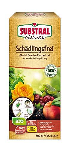 Substral Naturen Bio Ongediertevrij fruit- en groentenconcentraat tegen. bladlus, spinmijt, witte vlinderdas, etc, 500ml