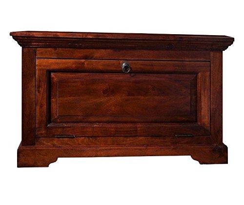 MASSIVMOEBEL24.DE Kolonialmöbel Kommode Akazie massiv Holz Oxford #906