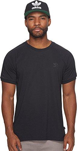 adidas Skateboarding California 2.0 - Camiseta para hombre, color negro