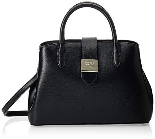 DKNY Damen Karan New York Handtasche Lyla R94D3F68 BGD schwarz/gold