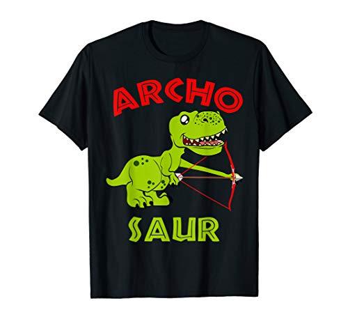 Archo Saurier Bogenschießen Bogenschützen Pfeil und Bogen T-Shirt