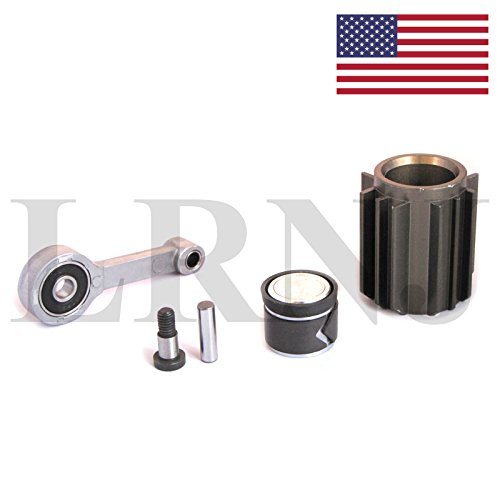 LRNJ AIR SUSPENSION COMPRESSOR CYLINDER AND PISTON ROD REPAIR KIT FOR ORIGINAL HITACHI COMPRESSOR MODEL COMPATIBLE WITH LAND ROVER RANGE ROVER L322 FULL SIZE MODEL 2006-2009 ONLY PART: LRNJLR023964