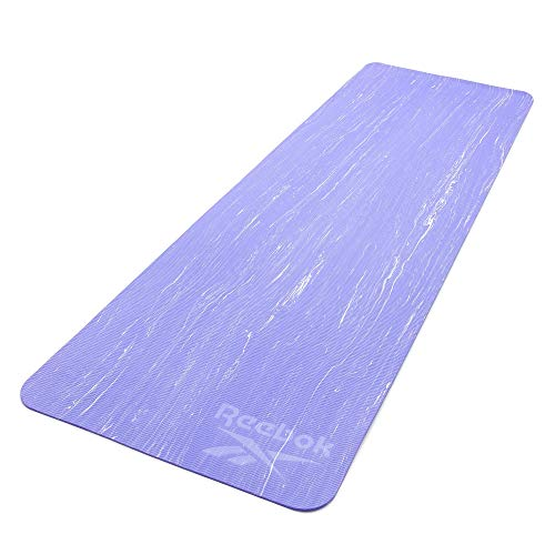 Reebok Estera de Yoga Camo-5mm-Púrpura/Lila, Unisex-Adult, Púrpura/Lila