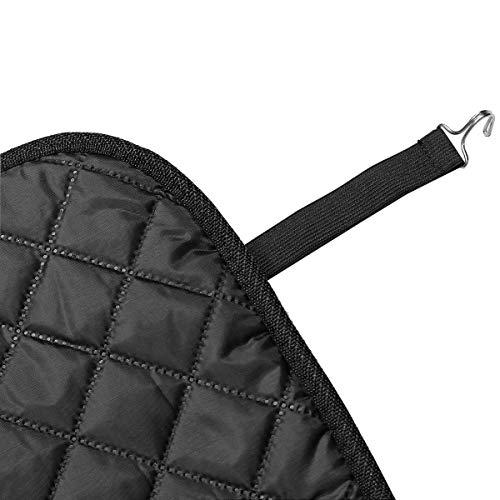 Ianqujiangxinqujianjunbaih Autositzbezüge vorne 2 × 80 cm Winter-HouseholdPolyester Auto-Frontsitzheizung Kissen Sitzwärmer Abdeckung Elektromatte, Ergonomisch und komfortabel (Color : Brown)