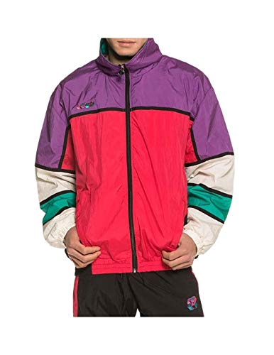 GRIMEY Track Jacket Brick Top SS19 Purple-L