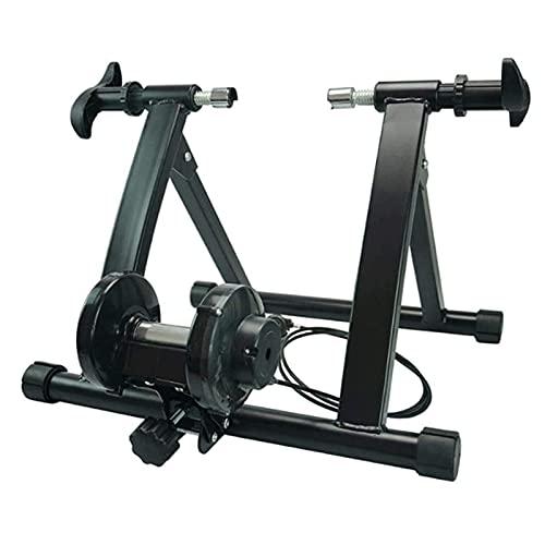 Lanrui Bici MTB Inicio clásico Bicicletas Trainer Soporte Interior Ejercicio de liberación rápida se Puede Utilizar con Todo Tipo de Bicicletas de 24 '' a 29 '' Ruedas Bike