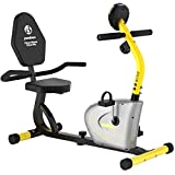 Pooboo Recumbent Exercise Bike Stationary, Magnetic Indoor Cycling Bike with Adjustable Resistance,...