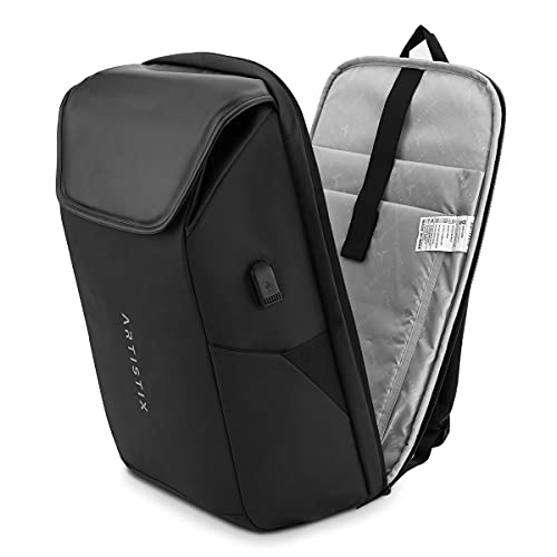 Artistix Arc Anti Theft Travel Multifunctional Backpack Water Repellent 32 Litres with USB Port Unisex
