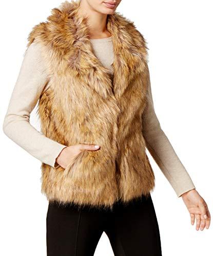 Price comparison product image INC International Concepts I.n.c. Knit & Faux Fur Vest Small / Medium (Brown)