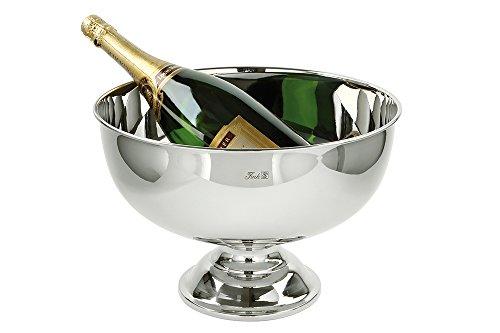 Fink 155015 Champagnerkühler/Sektkühler - Kent - Edelstahl - Ø 36 cm